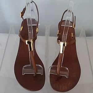 Tory Burch Brown Thong Sandal 9 M